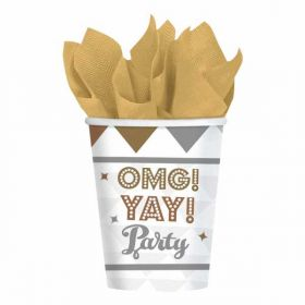 OMG! Engagement Paper Cups pk8