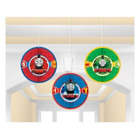 Thomas & Friends Honeycomb Party Decorations pk3