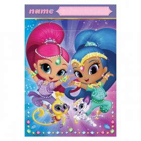 Shimmer & Shine Party Bags pk8