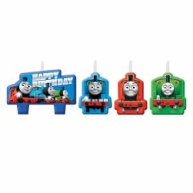 Thomas & Friends Candle Set pk4