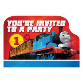 Thomas & Friends Postcard Invitations pk8