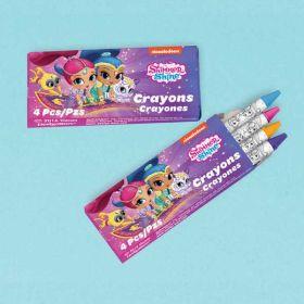 Shimmer & Shine Crayons pk12