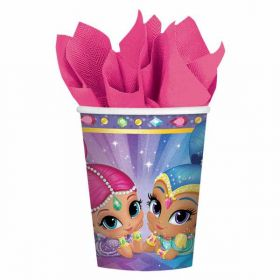Shimmer & Shine Paper Cups pk8