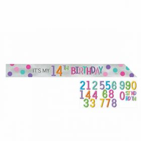Rainbow Personalised Sash