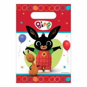 Bing Plastic Party Bags pk8