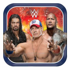 WWE Paper Plates 23cm pk8