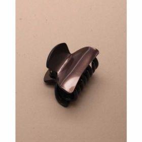 Dark Brown Metallic Acrylic Clamp