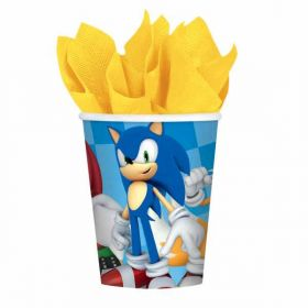Sonic the Hedgehog Paper Cups pk8