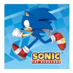 Sonic the Hedgehog Napkins pk16