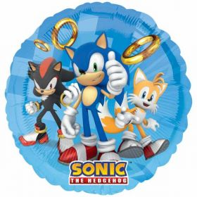 Sonic the Hedgehog Standard Foil Balloon