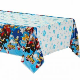 Sonic the Hedgehog Plastic Tablecover