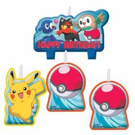 Pokémon Candle Set pk4