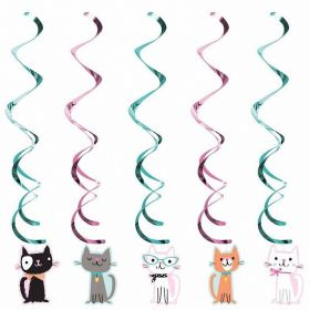 Purr-fect Party Assorted Dizzy Danglers