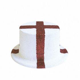 England Glitter Top Hat
