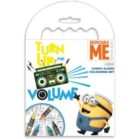 Despicable Me Carry-along colouring set