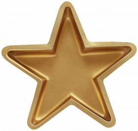 Gold Star Shaped Tray