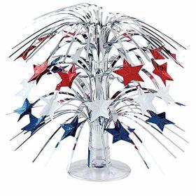 USA Stars Mini Cascade Centrepiece
