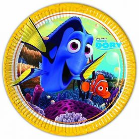 Finding Dory Paper Party Plates pk8