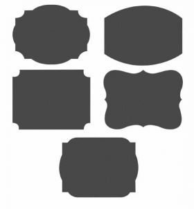 Chalkboard Labels pk10