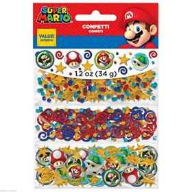 Super Mario Triple Pack Confetti 34g