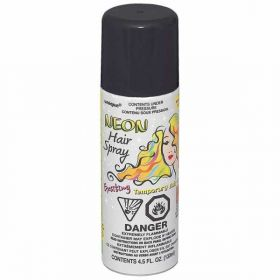 Neon Hair Spray - Black