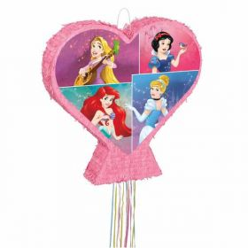 Large Disney Princess Pull Pinata