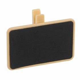 Chalkboard Food Sign Clips with chalk, pk4