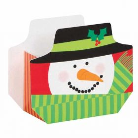 Snowman Christmas Treat Boxes pk8