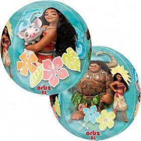 Moana Clear Orbz Foil Balloon