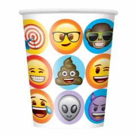 Celebration Emoji Cups pk8