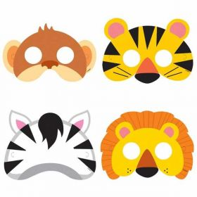 Animal Jungle Masks pk8