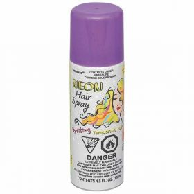 Neon Purple Hair Spray