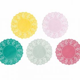 Talking Tables Truly Scrumptious Mini Paper Doilies, Pack of 100