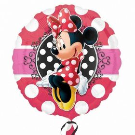Minnie Mouse Portrait Standrad Foil Balloon 17''