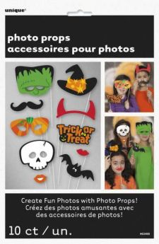 Trick or Treat Halloween Photo Props pk10