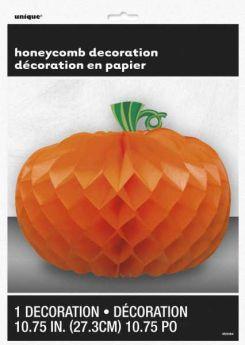Pumpkin Shaped Honeycomb Centerpiece