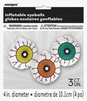 Inflatable Eye Balls pk3