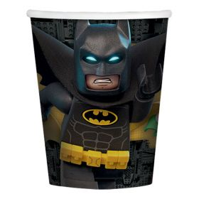 LEGO Batman Movie Paper Cups 266mls pk8