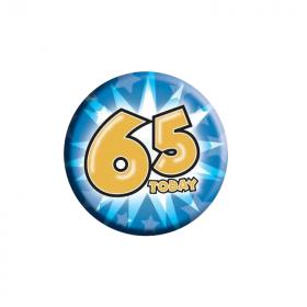 65 Today Birthday Badge