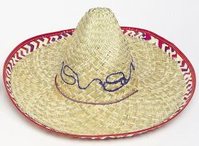 Adult Sombrero Straw Hat