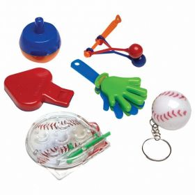 Sports Party Favour Packs, 48 piece