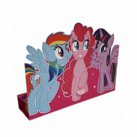 My Little Pony Stand-up Invitations, pk8