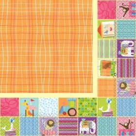 16 Circus Animal Lunch Napkins
