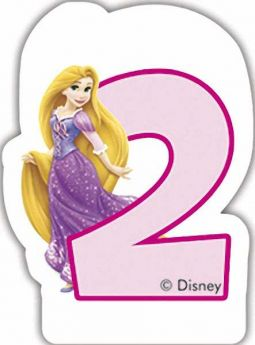 Disney Princess Party Candle No 2
