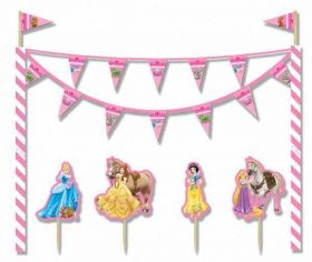 Princess & Animals Cake Decoration Kit
