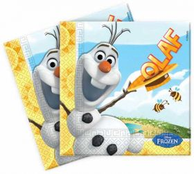 Frozen Olaf Summer Luncheon Napkins, pk20