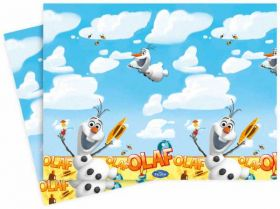 Frozen Olaf Summer Plastic Party Tablecover