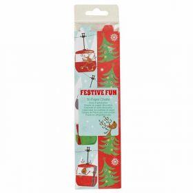 Festive Fun Paper Chain pk50