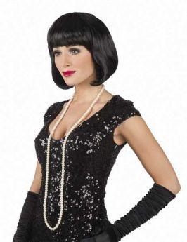 Black Cabaret Wig