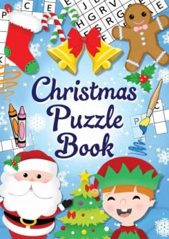 Christmas Fun Puzzle Book